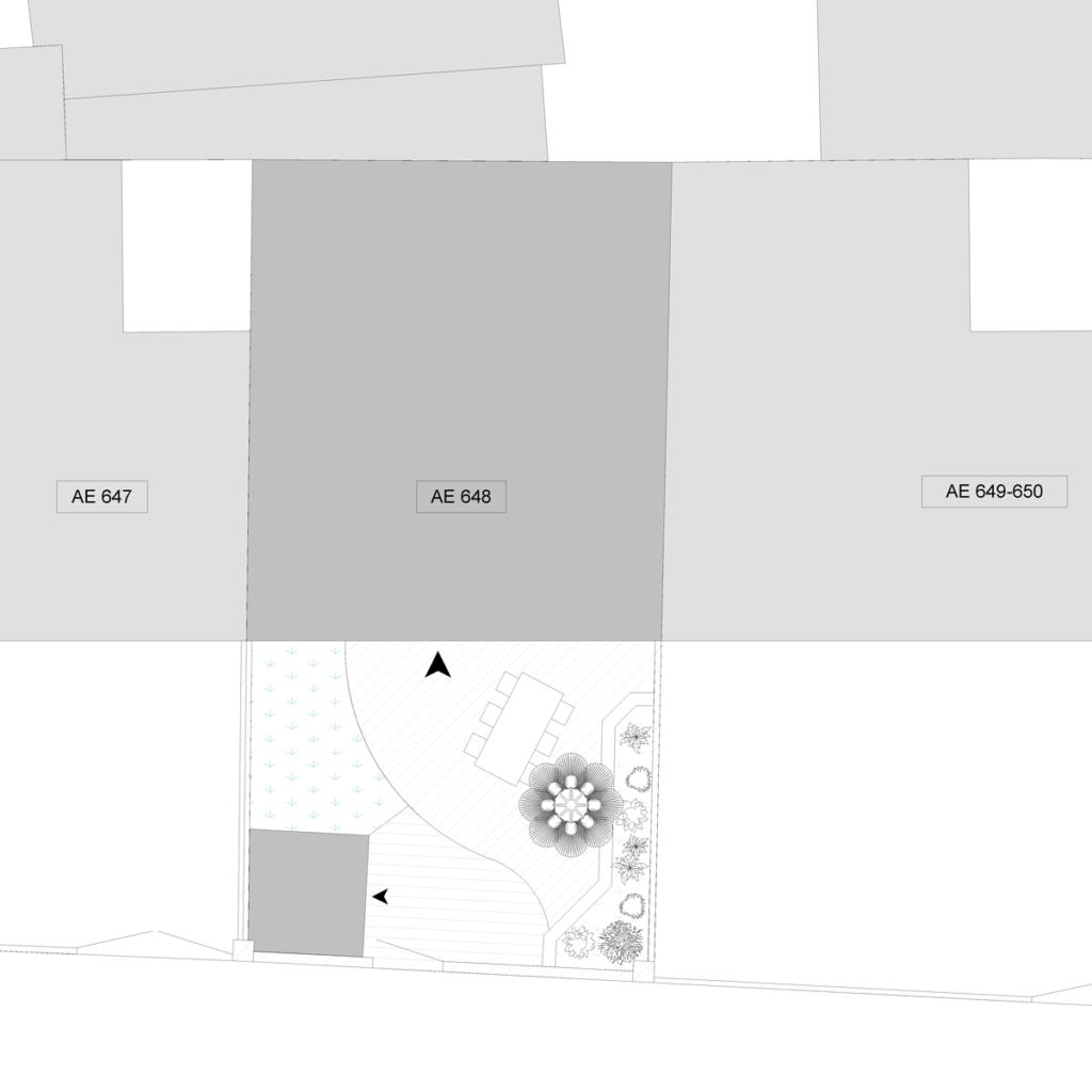 Permis de construire plans b - Plan de masse maison individuelle ...